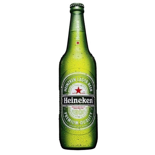 В 1954 году у пива появилась фирменная этикетка с красной звездой и «улыбающейся» надписью