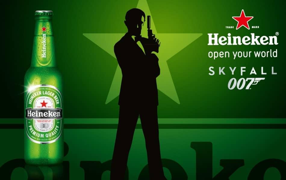 Чтобы «заставить» Бонда пить пиво, Heineken заплатила 45 миллионов долларов