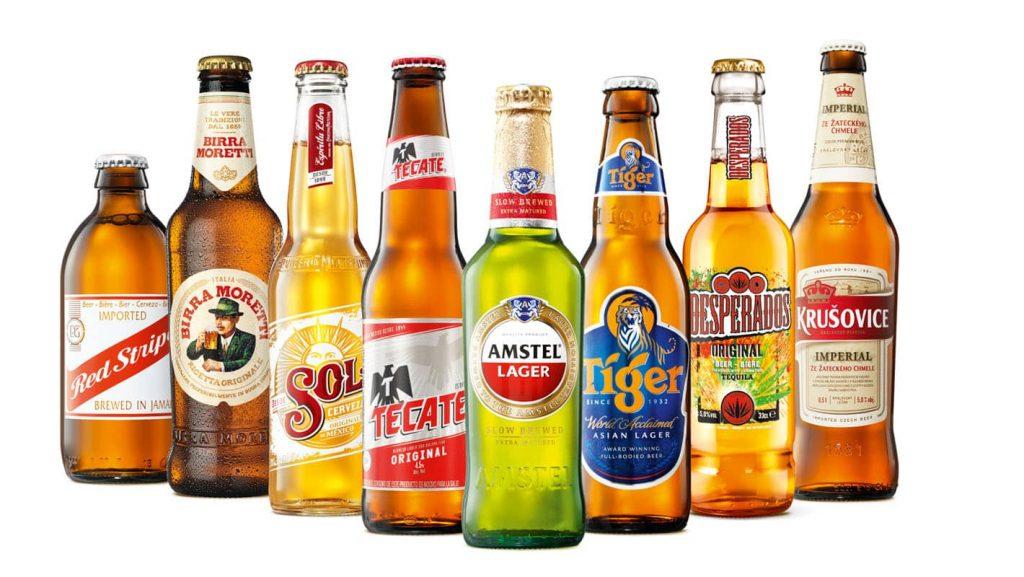 Пивной корпорации принадлежат 300 брендов по всему миру