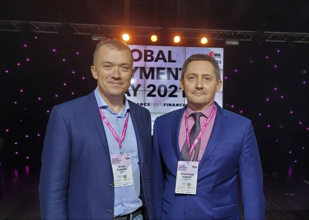 Ігор Ковальов (зліва) й Олександр Карпов (справа)